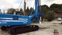Used Rigs 2nd Hand Rigs Soilmec R-312 Piling Rig On Sale / Erke Group