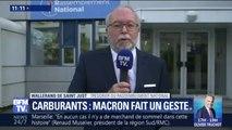 """Carburants: Wallerand de Saint-Just a """"d'ores et déjà mis son gilet jaune sur le tableau de bord"""" de sa voiture"""