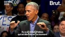 """États-Unis : """"Nous pouvons choisir l'espoir plutôt que la peur"""", le message d'espoir de Barack Obama"""