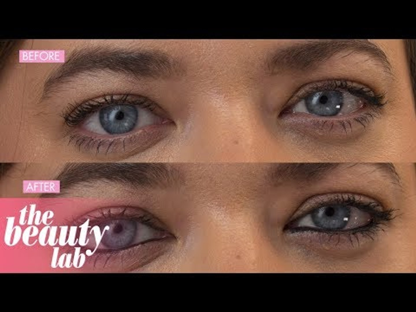 aa4875a49cd Trying Kat Von D Lash Liner Eyeliner | Review & Tutorial | Beauty Lab |  Cosmopolitan UK - video dailymotion