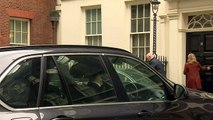 Cabinet ministers depart Downing Street