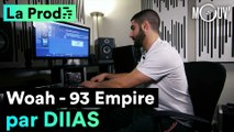 """""""Woah"""" de 93 Empire : Comment Diias a composé le hit"""