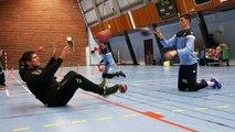 Les gardiens des Merlus dans les cages du Lanester Handball 18-19