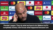 """Eng Sub: """"Believe me I don't know what happened"""" Pep Guardiola on documents that appear to show Man City overspending"""