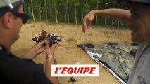 le making-of du ride de folie entre Tom Pagès et un drone - Adrénaline - Freestyle FMX