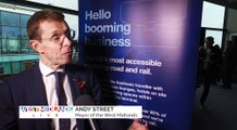 West Midlands Mayor Andy Street's Thoughts On Birmingham Airport's Expansio