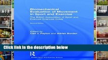 [P.D.F] Biomechanical Evaluation of Movement in Sport and Exercise: The British Association of