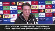 Eng Sub: Bayern boss says spirits high in squad after unrest rumours