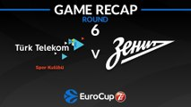 Highlights: Turk Telekom Ankara - Zenit St Petersburg