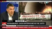El juicio contra Otegi NO fue JUSTO. Tribunal Estrasburgo deja por los suelos a la Justicia española
