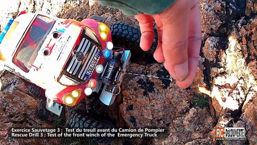 MST CMX Jeep & Camion Pompier Exercice Sauvetage visite SNSM