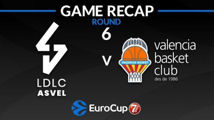 7Days EuroCup Highlights Regular Season, Round 6: ASVEL 73-69 Valencia