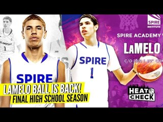 LaMelo Ball  BACK In HIGH SCHOOL For Senior Year!! CRAZY Coach Said WHAT To His Players?