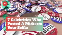 Celebs Who Posted Midterm Voting Selfies