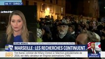 Deux jours après l'effondrement d'immeubles à Marseille, les recherches de personnes disparues continuent
