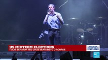 US Midterm Elections: Democratic candidate Beto O'Rourke concedes defeat
