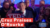 Ted Cruz Praises Rival Beto O'Rourke During Senate Race Victory Speech