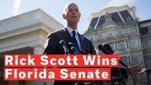 Republican Rick Scott Narrowly Defeats Bill Nelson In Florida Senate Race