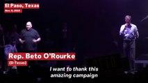 Beto O'Rourke Drops The F-Bomb In Fiery Senate Concession Speech