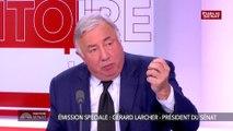 Gérard Larcher : « Il n'est pas impossible que nous introduisions dans la Constitution des éléments chiffrés et territoriaux » pour le nombre de parlementaires