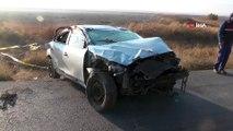 Konya Ereğli'de Trafik Kazası! Otomobil Takla Attı: 1 Ölü, 2 Yaralı
