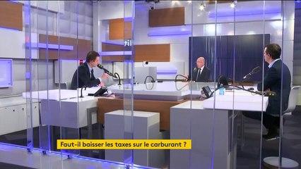 """""""Macron doit annuler l'augmentation des taxes sur le carburant"""" France Info 07/11/2018"""