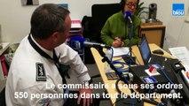 France Bleu La Rochelle au commissariat de la Rochelle  : rencontre avec le directeur départemental de la Sécurité publique Olivier Le Gouestre