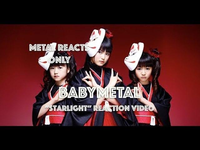 "BABYMETAL ""Starlight"" Reaction Video | Metal Reacts Only | MetalSucks"