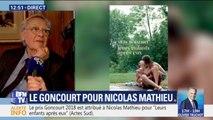 """Goncourt attribué à """"Leurs enfants après eux"""": """"C'est un livre qui parle de la France, un livre social"""", explique Bernard Pivot"""