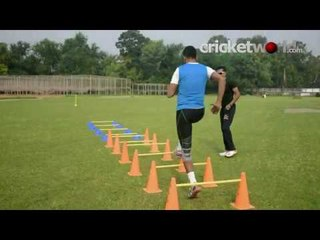 Fast Bowling Training with Chinmoy Roy | Cricket World TV