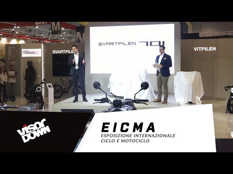 EICMA – Husqvarna Svartpilen 701 Launch