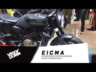 EICMA - KTM 790 Adventure R walkaround
