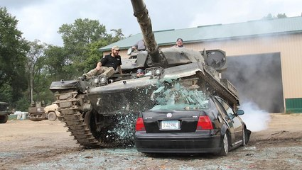Need Plans This Thanksgiving? How about Driving a Tank