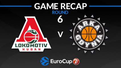 7Days EuroCup Highlights Regular Season, Round 6: Lokomotiv 96-72 Arka