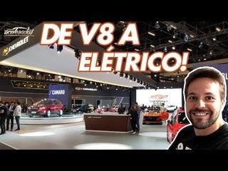 De Camaro a Bolt! Gerson conferiu as novidades da Chevrolet no SDA - AceleradosNoSalão #1