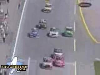 – NASCAR CRASH –