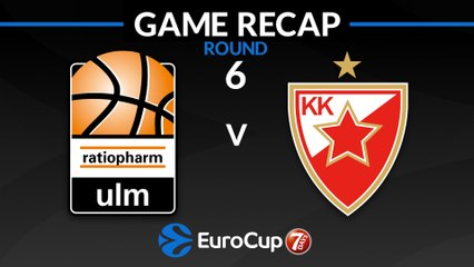 7Days EuroCup Highlights Regular Season, Round 6: Ulm 95-80 Zvezda