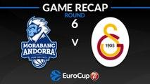 Highlights: MoraBanc Andorra - Galatasaray Istanbul