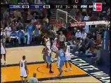 Nuggets 124, Warriors 120 (F)Allen Iverson scored 39 points,