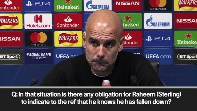 Eng Sub: VAR needed says Pep after penalty mistake in City win