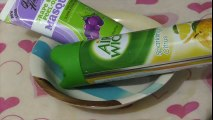 how to make slime with air wick air freshener and face Mask !! No glue, No Borax