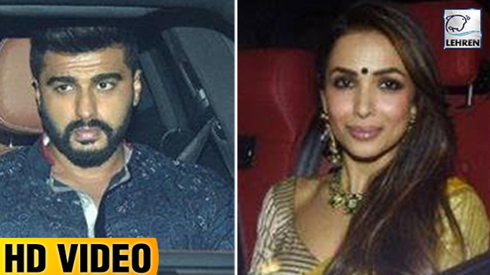 Arjun Kapoor & Malaika Arora Party At Karan's Johar Diwali Bash
