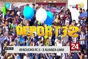 Torneo Clausura 2018: Alianza Lima venció 2-1 a Ayacucho FC
