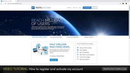How to register and get my account approved - Video Tutorial -