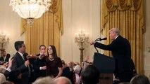 مجادله ترامپ با خبرنگار سیانان: تو بی ادب و گستاخی