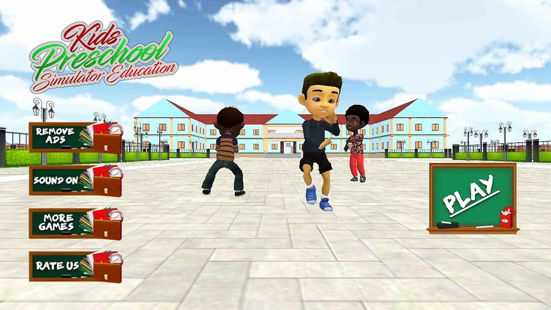 Preschool Kids Simulator Education Learning games