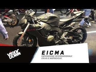 EICMA - New Honda Fireblade walkaround