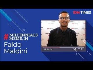 #MilenniallsMemilih - Faldo : Kritik Silahkan, Hina Jangan!
