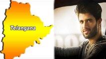 Vijay Devarakonda Participates In Telangana Election Campaign   Filmibeat Telugu