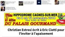 La lettre sans concession de Christian Estrosi à Eric Ciotti